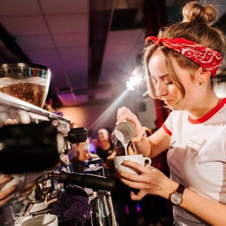 Koffie op festival