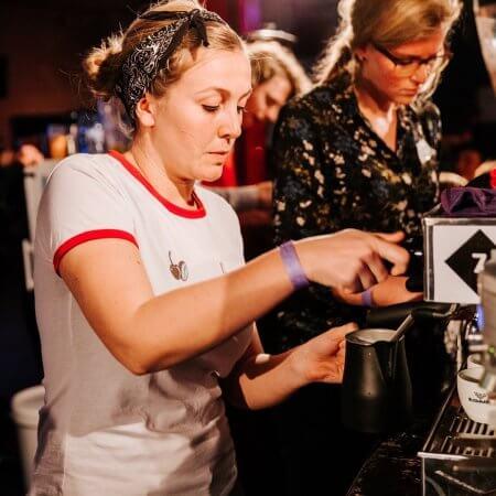 Espresso op festival